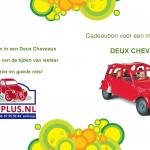 Cadeaubon 2cvplus.nl